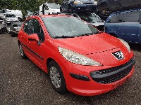 Peugeot 207/207+ (WA/WC/WM) Hatchback 1.4 (TU3A(KFV)) WINDSHIELD WIPER MECHANISM + MOTOR 2008  3397020769/0390241540/9650380780