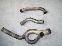 Aprilia RSV 1000 MILLE EXHAUST HEADER / DOWNPIPES 1999