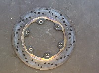 Ducati MONSTER 600 1992-2004 BRAKE DISC REAR 1995