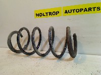 Renault Grand Scénic II (JM) MPV 1.9 dCi 120 (F9Q-812) COIL SPRING FRONT 2004 BLAUW - GRIJS