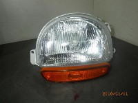 Renault Twingo (C/S06) Hatchback 1.2 SPi Phase I (C3G-702) HEADLIGHT LEFT 0