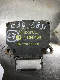 BMW 3 serie (E36/2) Coupé 318iS 1.8 16V (M42-B18(184S1)) IGNITION COIL 0 1734468/2052.0110.010/20520110010 2052.0110.010
