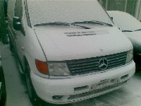 Mercedes Vito (638.1/2) Bus 2.3 110D (OM601.970) HANDBREMSHEBEL 1997