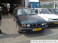 BMW 5 serie Touring (E34) Combi 518i (M43-B18) CONTROL PANEL HEATER 1996
